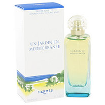 Un Jardin En Mediterranee by Hermes for Men Eau De Toilette Spray (Unisex) 3.4 oz