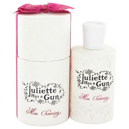 Miss Charming by Juliette Has a Gun for Women Eau De Parfum Spray 3.4 oz at PalmBeach Jewelry