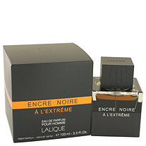 Encre Noire A L'extreme by Lalique for Men Eau De Parfum Spray 3.3 oz