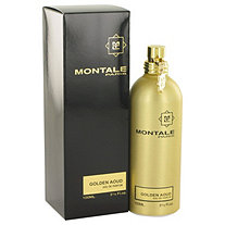 Montale Golden Aoud by Montale for Women Eau De Parfum Spray 3.3 oz