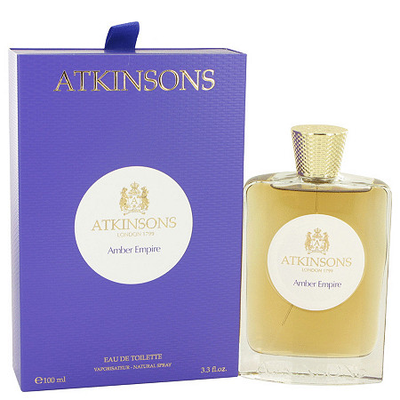 Amber Empire by Atkinsons for Women Eau De Toilette Spray 3.3 oz at PalmBeach Jewelry