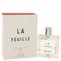 La Feuille by Miller Harris for Women Eau De Parfum Spray 3.4 oz