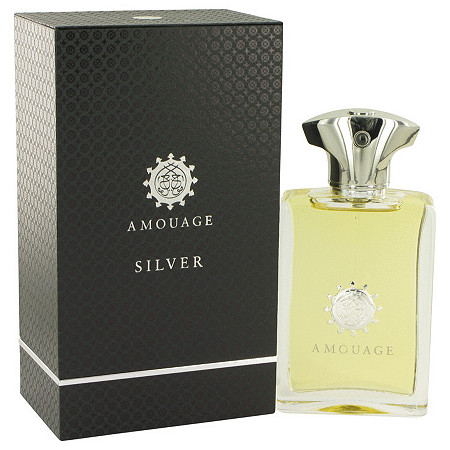 Amouage Silver by Amouage for Men Eau De Parfum Spray 3.4 oz at PalmBeach Jewelry