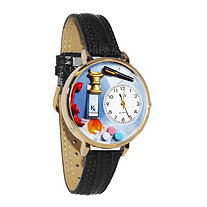 Personalized Pharmacist Watch in gold or silver case