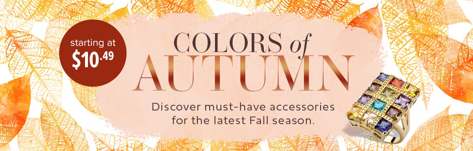 Colors of Autumn Accessories