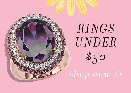 rings under 50